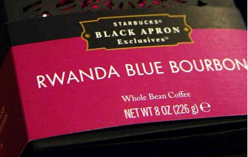 Starbucks Blue Bourbon
