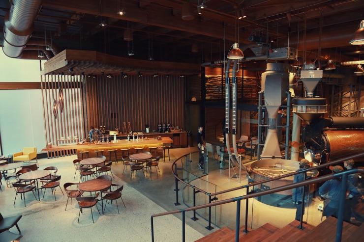 Starbucks Reserve Roastery and Tasting room