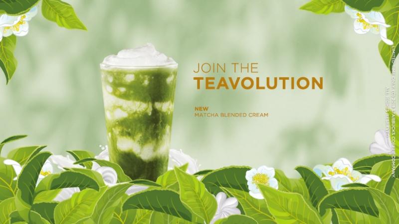 Hương vị trà xanh hấp dẫn