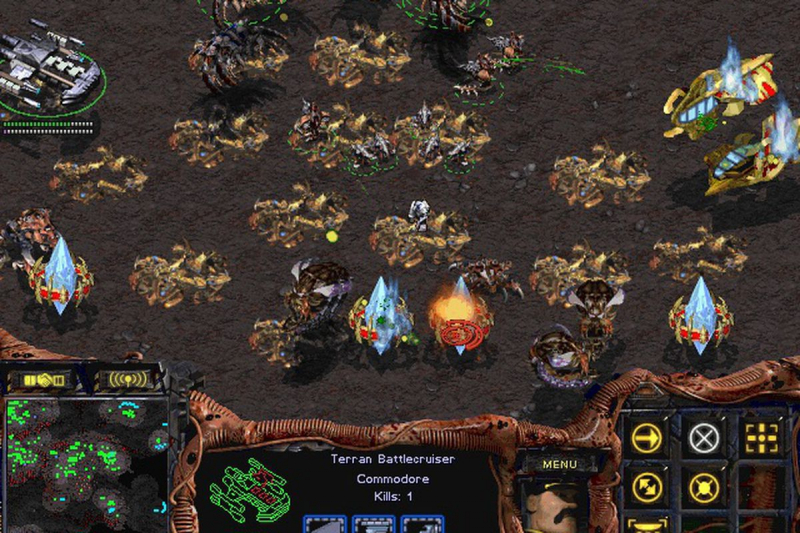Tựa game Starcraft