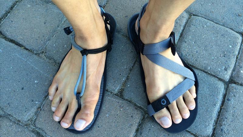 Startup dép chạy đế mỏng - Xero Shoes