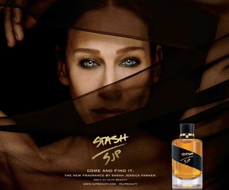 Sarah Jessica Parker chụp ảnh quảng cáo cho Stash