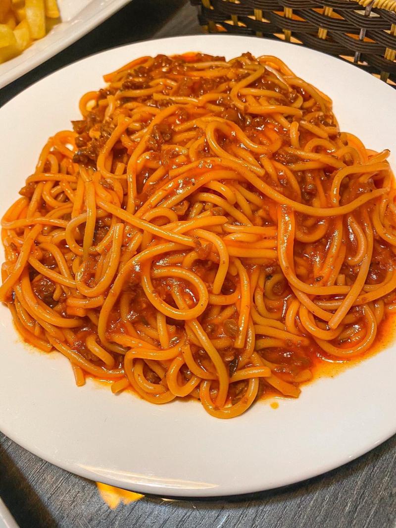Spaghetti chuẩn phong vị Ý
