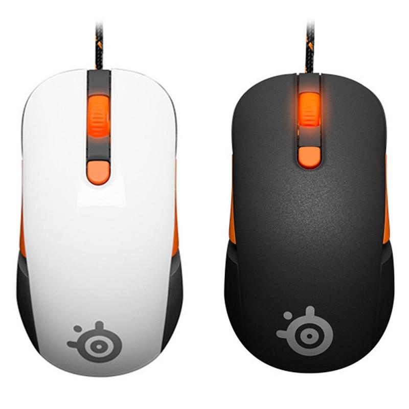 Chuột có hai màu trắng và đen cho game thủ lựa chọn.