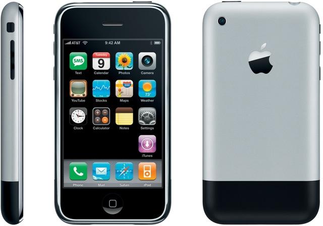 iPhone 2G được giới thiệu ngày 9/1/2017