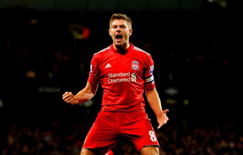 Gerrard là đội trưởng huyền thoại của Liverpool