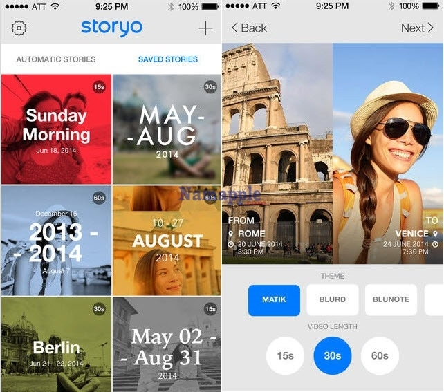 Storyo giúp người dùng tạo ra những video theo ý thích nhanh chóng, dễ dàng