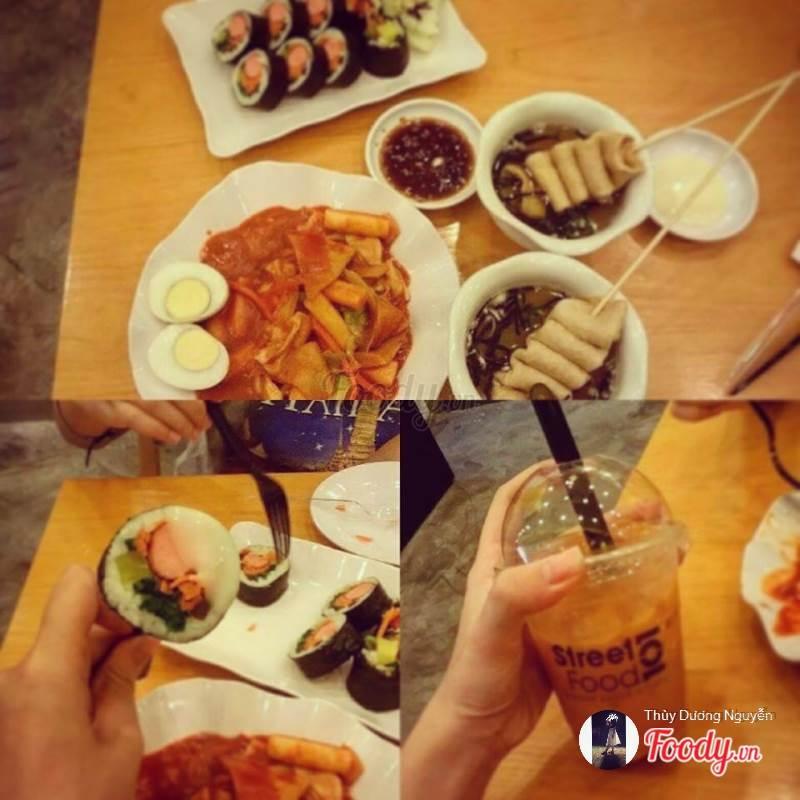Đồ ăn và đồ uống tại StreetFood