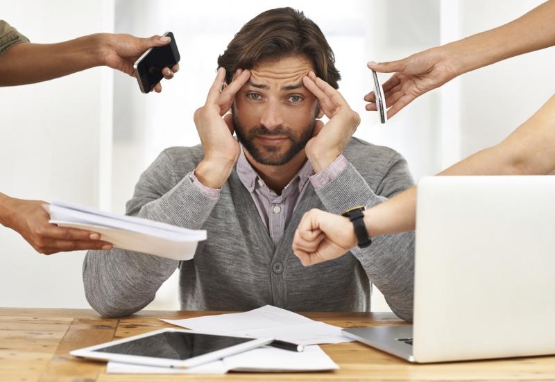 Stress gây rất nhiều tác hại cho chúng ta trong đó có cả mất ngủ