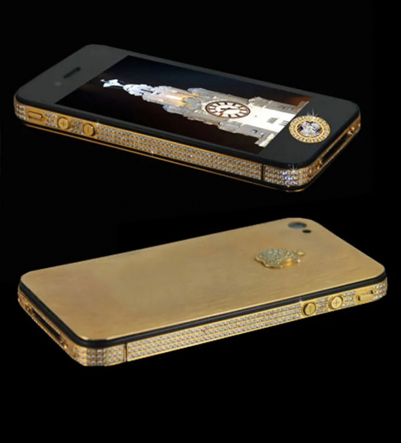 Stuart Hughes iPhone 4s Elite Gold