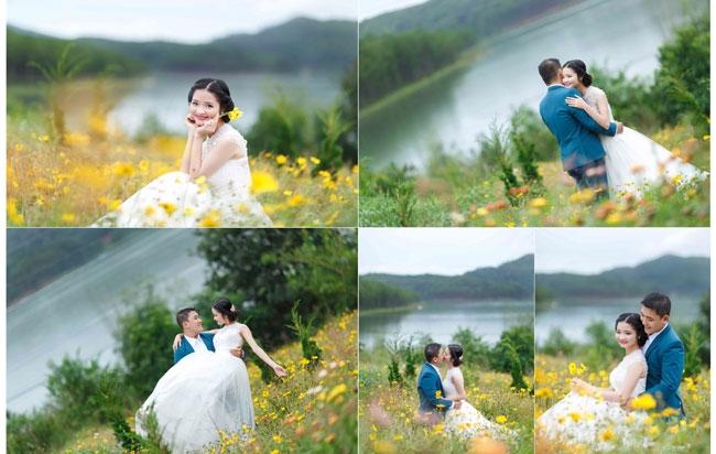 Cô dâu trang điểm tại Honey's Bridal