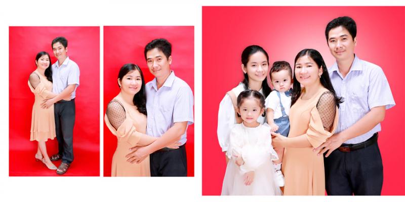 Ảnh gia đình được chụp bởi Studio Ohtiti