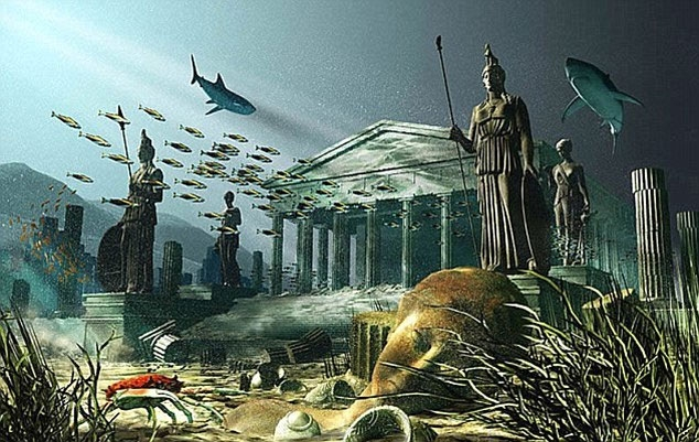 Thành phố Atlantis biến mất một cách bí ẩn
