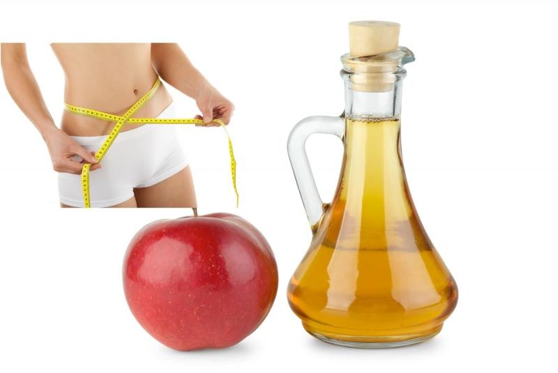 Giấm và táo một kết hợp hoàn hảo cho vung bụng.