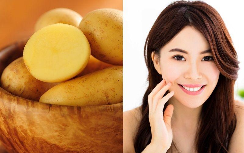 Sử dụng khoai tây tươi