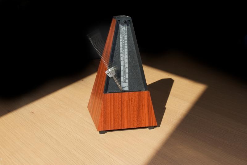 Sử dụng metronome