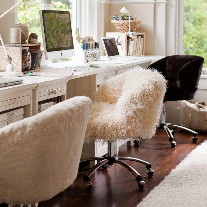 Làm việc trên một chiếc ghế thoải mái cũng sẽ giúp tăng năng suất lao động.