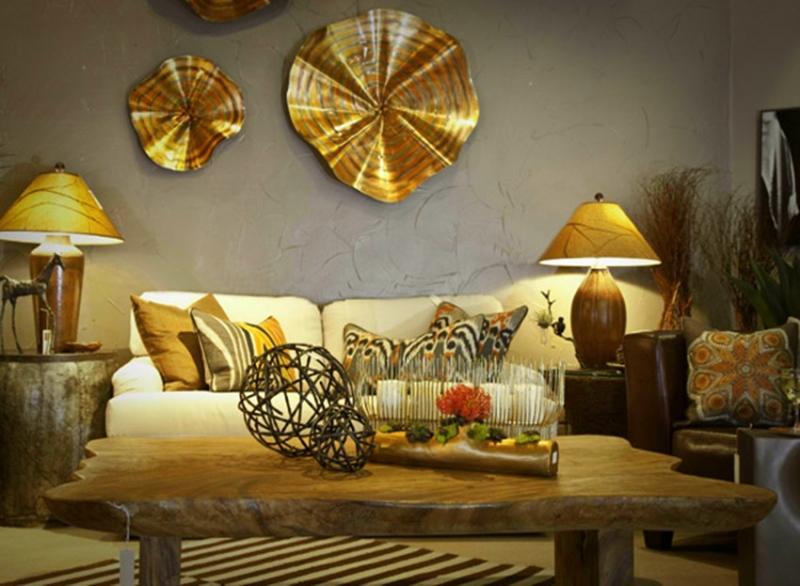 Sử dụng nội thất bằng kim loại