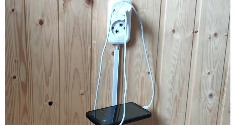 Sử dụng ổ cắm trên tường để sạc nếu có thể