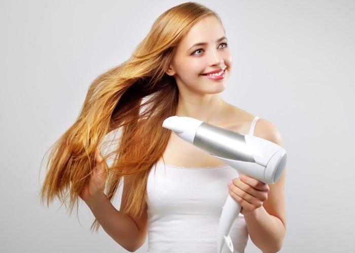 Sử dụng sai máy sấy tóc