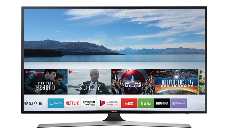 Tivi Samsung giúp bạn kết nối với điện thoại dễ dàng hơn.