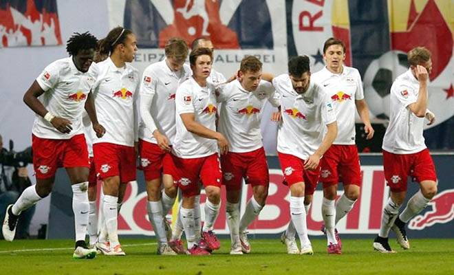 Leipzig đang là ngựa ô tại Bundesliga mùa này