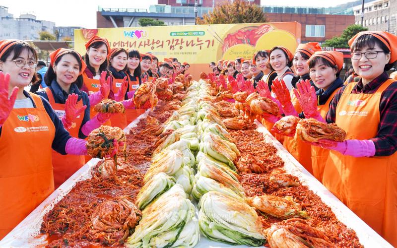 Sứ xở của 250 loại Kim chi