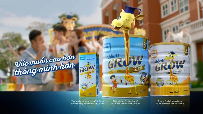 Sữa Bột Dinh Dưỡng Abbott Grow