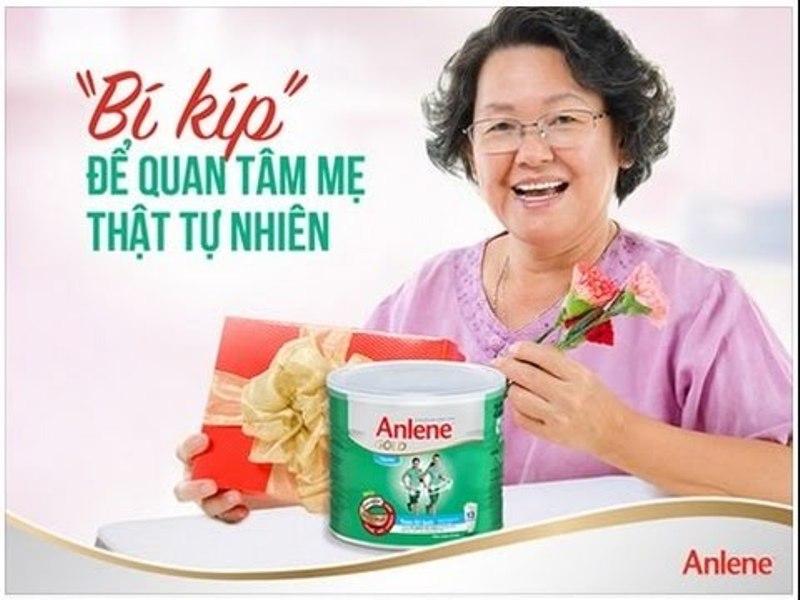 Sữa Anlene là sản phẩm tốt cho người già