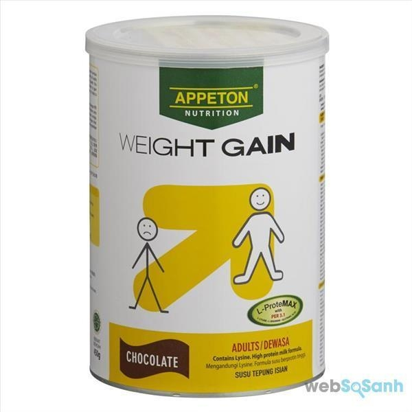 Sữa Appeton Weight Gain Adults