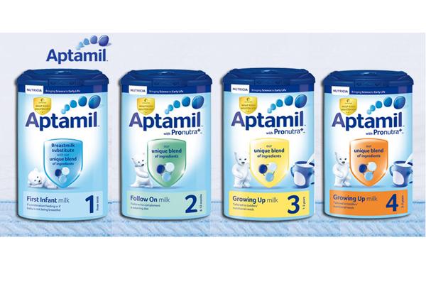 Sữa công thức Aptamil - Anh