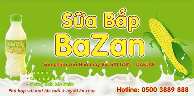 Sữa bắp Bazan