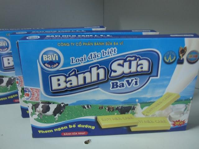 Bánh sữa - đặc sản nổi tiếng Ba Vì