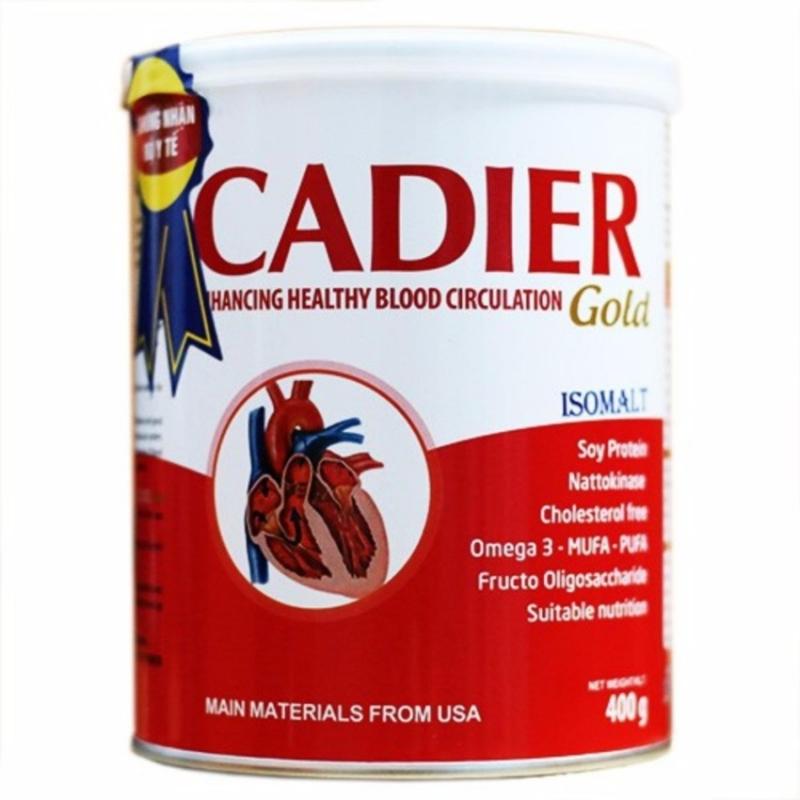 Sữa Cadier Gold từ viện dinh dưỡng