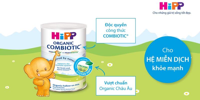 Sữa bột công thức hữu cơ HiPP ORGANIC COMBIOTIC®
