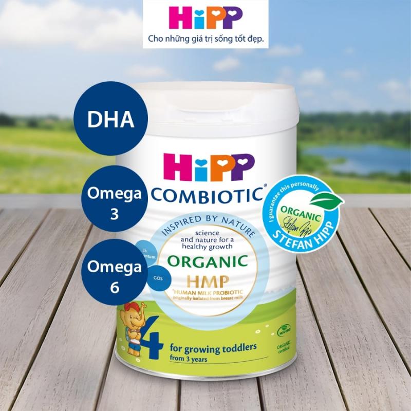 Sữa bột công thức hữu cơ  HiPP organic Combiotic – Nhập khẩu từ Đức