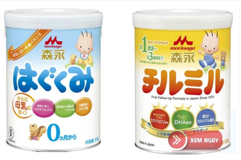 Sữa bột Morinaga của Nhật Bản