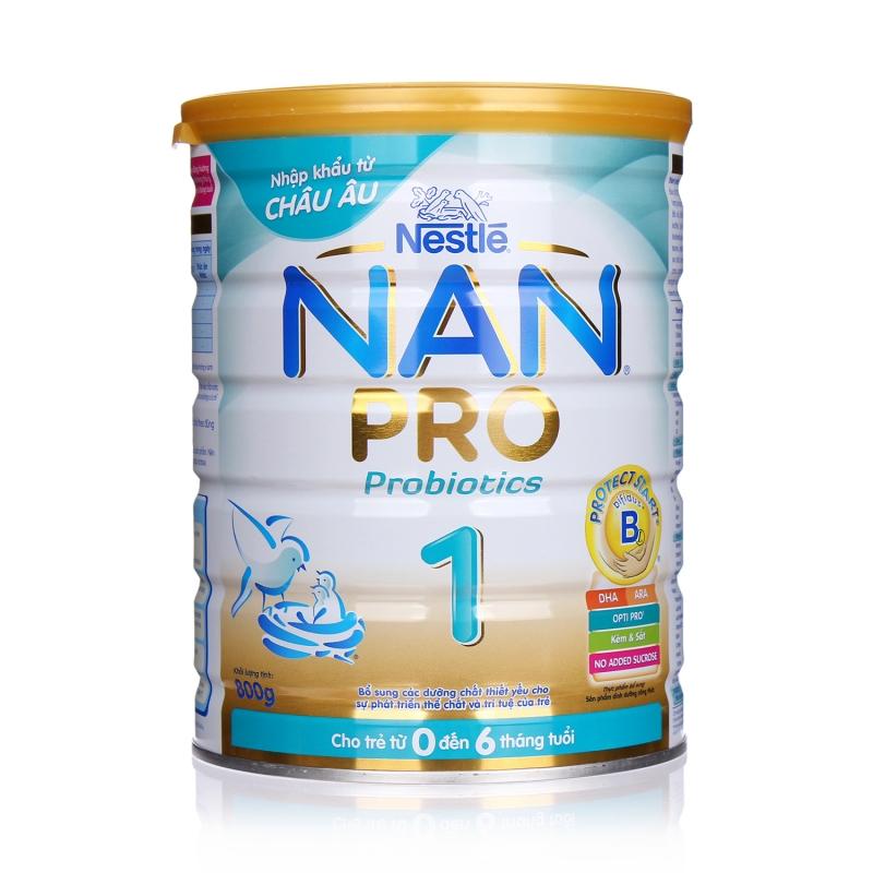 Sữa bột Nan Pro 1 của Nestle
