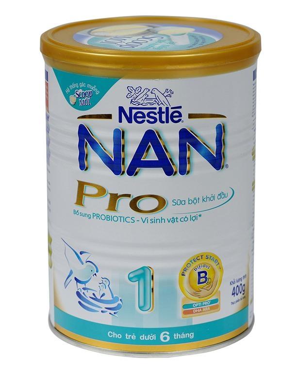Sữa bột Nestle Nan Pro 1