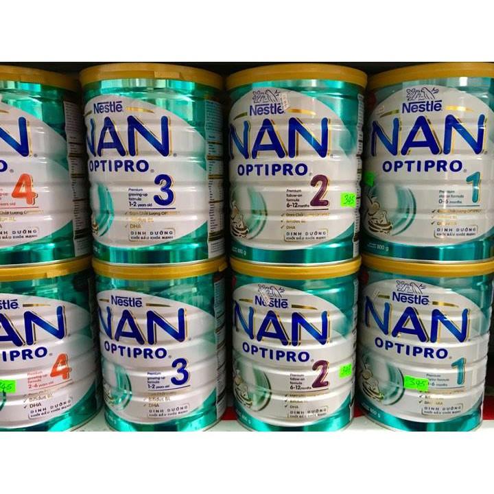 Sữa bột Nestle Nan Pro