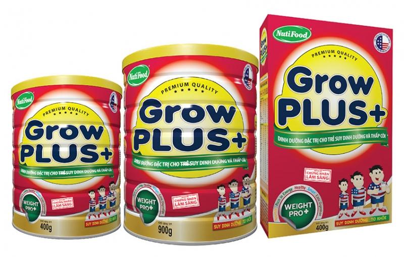 Sữa bột Nutifood Grow Plus +