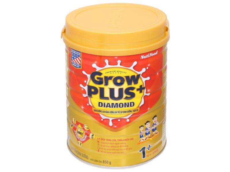Sữa bột NutiFood NutiFood Grow Plus+ Diamond 1+ (1 - 2 tuổi)