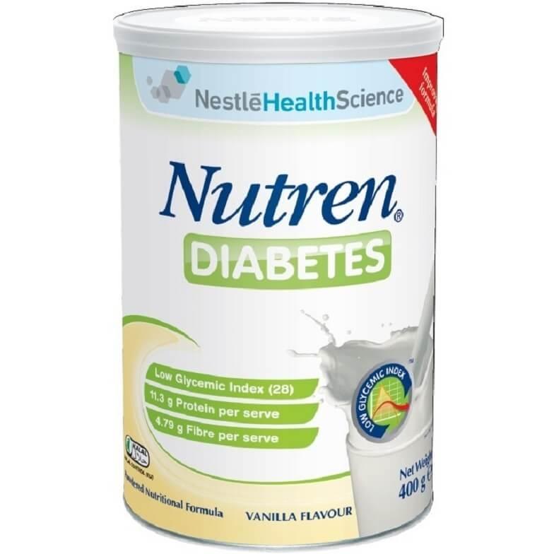 Sữa Nutren Diabets từ thương hiệu Nestle