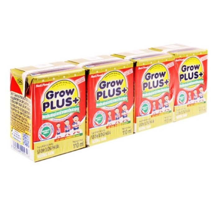 Sữa bột pha sẵn Nuti Grow Plus đỏ 110ml