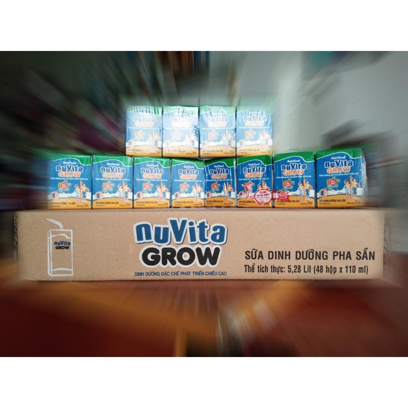Sữa bột pha sẵn Nuvita Grow 110ml (1 tuổi trở lên)