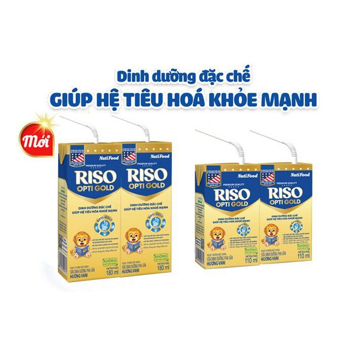 Sữa bột pha sẵn RISO OPTIGOLD 180ml