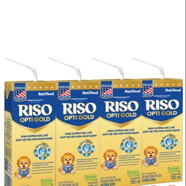 Riso Optigold được đảm bảo chất lượng bởi hệ thống quản lý chất lượng ABS-QE Hoa Kỳ là giải pháp hữu hiêu để trẻ có một hệ tiêu hóa khỏe mạnh.