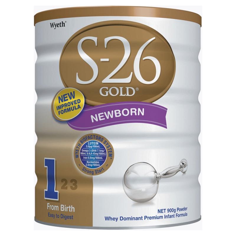 Sữa bột S-26 của Úc