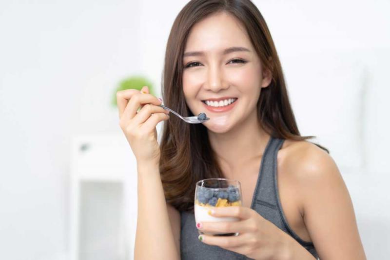 Sữa chua làm tăng cường miễn dịch tại chỗ cho dạ dày