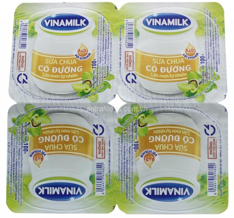 Sữa chua có đường Vinamilk